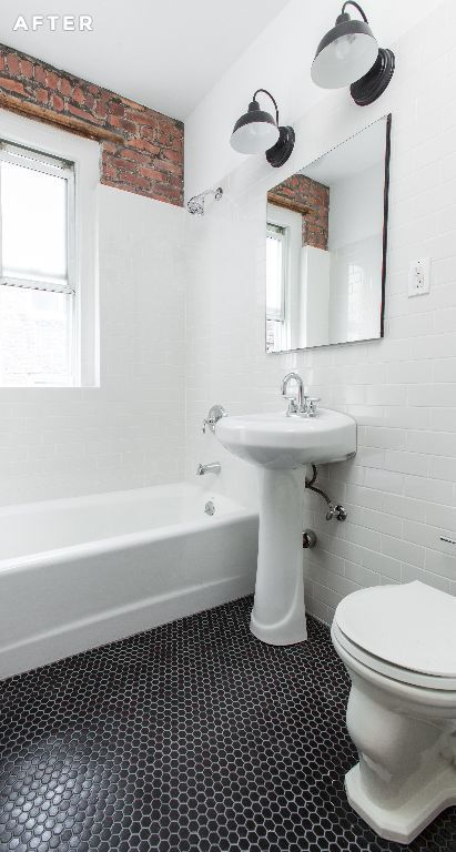 Tile subway tiles and floors on pinterest - Best place to buy bathroom tiles ...