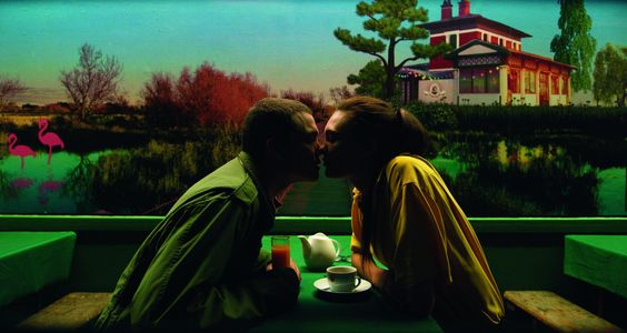 Cena do filme #Love, do diretor Gaspar Noé. Coproduzido pelo brasileiro Rodrigo Teixeira, o longa-metragem foi o mais comentado em #Cannes, devido às suas cenas pornográficas em 3D. Foto Divulgação.