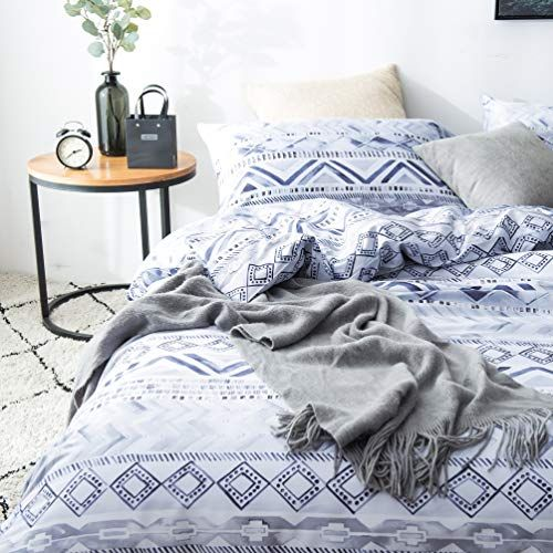 Slumbertown 100 Egyptian Cotton Sateen Weave 3 Piece Duvet Cover Set Silky Soft Luxurious Breathable White G Chic Duvet Covers Duvet Covers King Duvet Cover