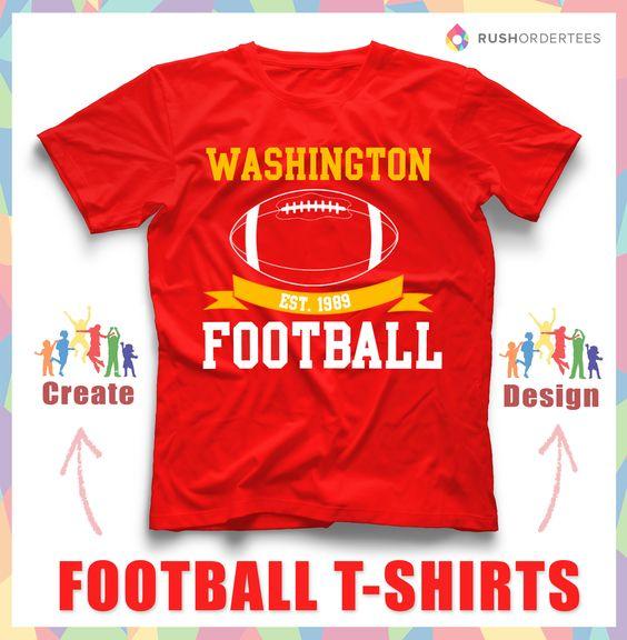 football custom t shirt design idea 39 s create your own