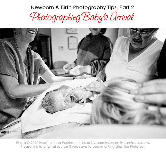 I Heart Faces Birth Photography Tutorial