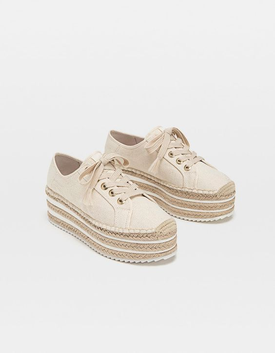 35 Platform Espadrilles Shoes That Always Look Great shoes womenshoes footwear shoestrends