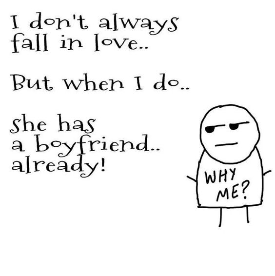 I don't always fall in love