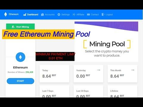 ethereum mining dashboard