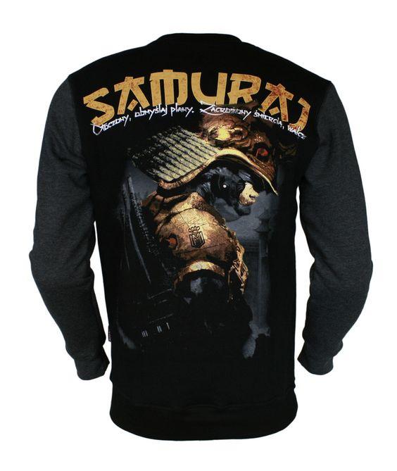 Bluza 'Samuraj' - tył ---> Streetwear shop: odzież uliczna, kibicowska i patriotyczna / Przepnij Pina!