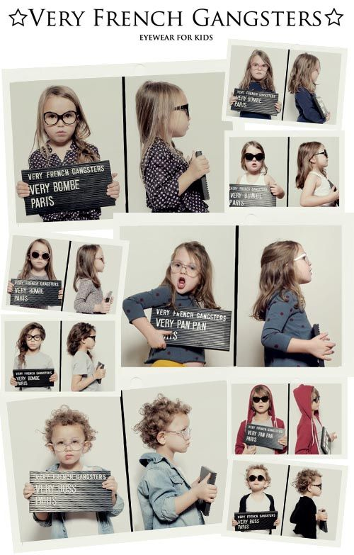 Very French Gangster: Super Chic Eyewear For Kids