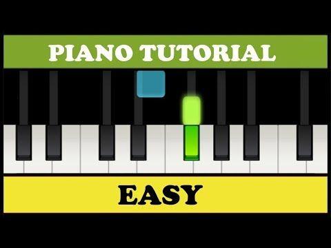 Clases De Teclado Para Principiantes Tutorial De Teclado Gratis Como Tocar Teclado Youtube Canciones Fáciles Para Piano Partituras Piano Facil Piano