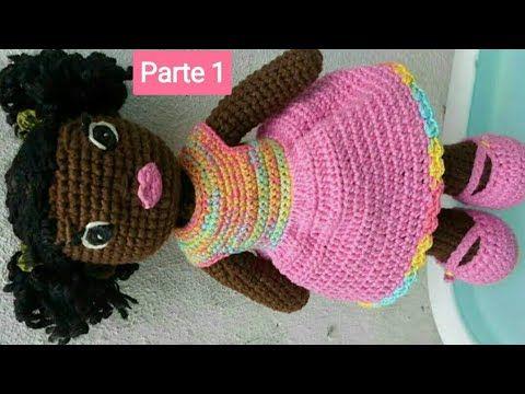 morena | Bonecas de crochê, Bonecas artesanais, Brinquedos de crochê | 360x480