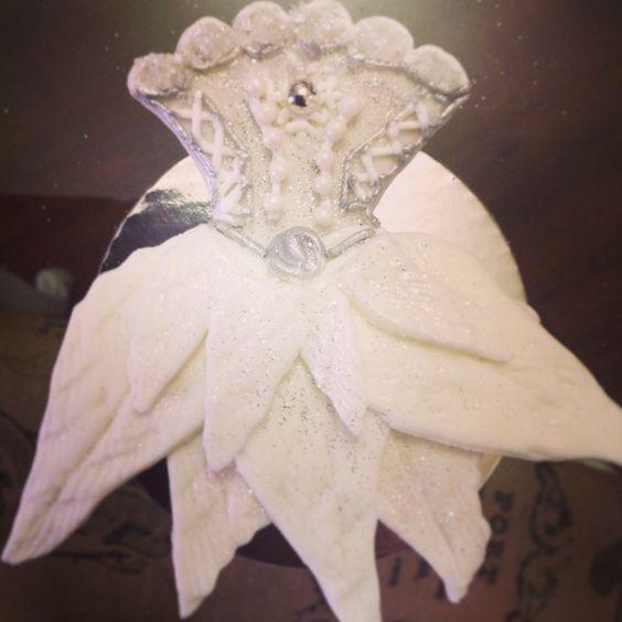 Sugar Plum Fairy Tutu Cookie, Crema de la Crema