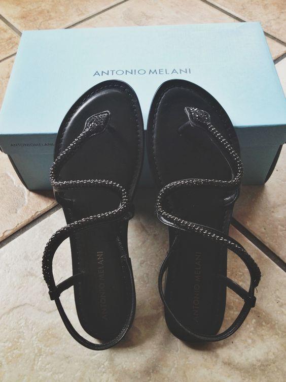 Red Antonio Melani Shoes Pair
