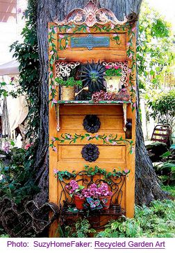 Pinterest the world s catalog of ideas for Upcycled garden projects from junk
