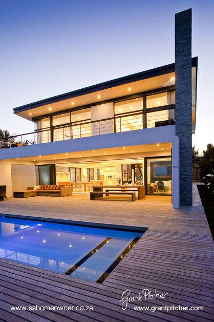 THE BEACH HOUSE LODGE, SALT ROCK by HARBORTH AND NELSON ARCHITECTS, via Behance