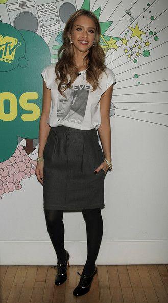 Jessica Alba ... http://celevs.com/the-10-sexiest-photos-of-jessica-alba/