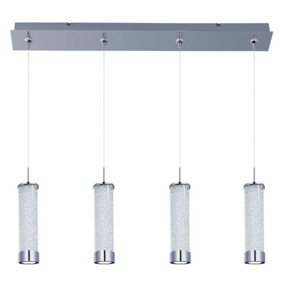 Chroma 4-Light LED RapidJack Pendant and Canopy