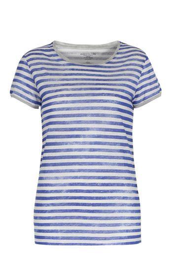 MAJESTIC FILATURES Leinenshirt mit Streifen bei myClassico - Premium Fashion Online Shop