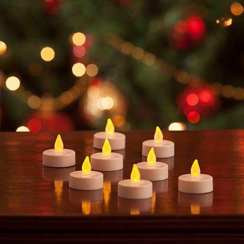 Ponta Velinhas em LED, Kit com 8 unidades - Christmas Traditions