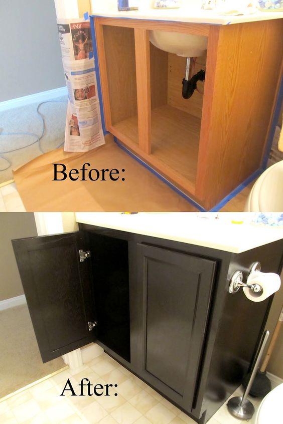 17 diy bathroom upgrades you can actually do stains for Bathroom upgrades