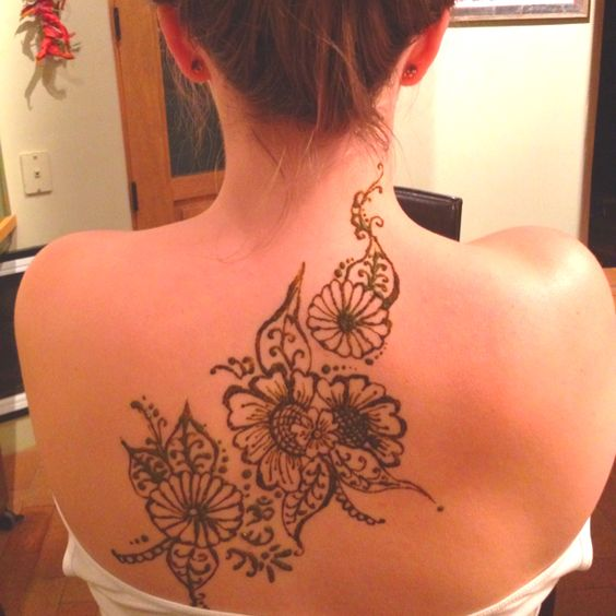 My henna tattoo done for me by my cousin!! :)