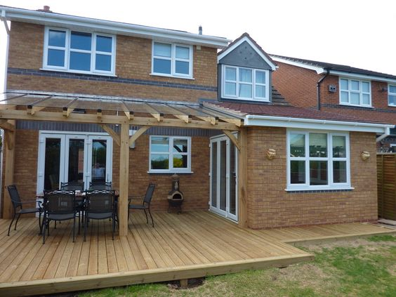 oak extension glass roof - Google Search