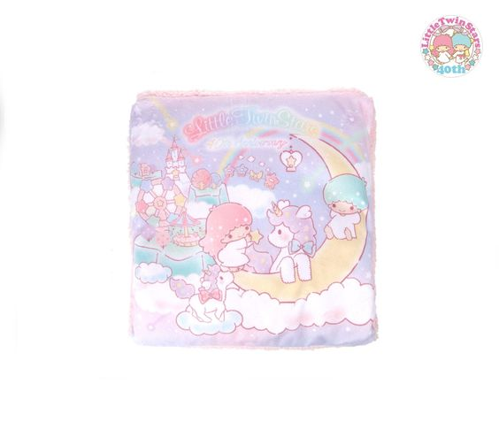 Little Twin Stars Fold Up Blanket: Dream Collection