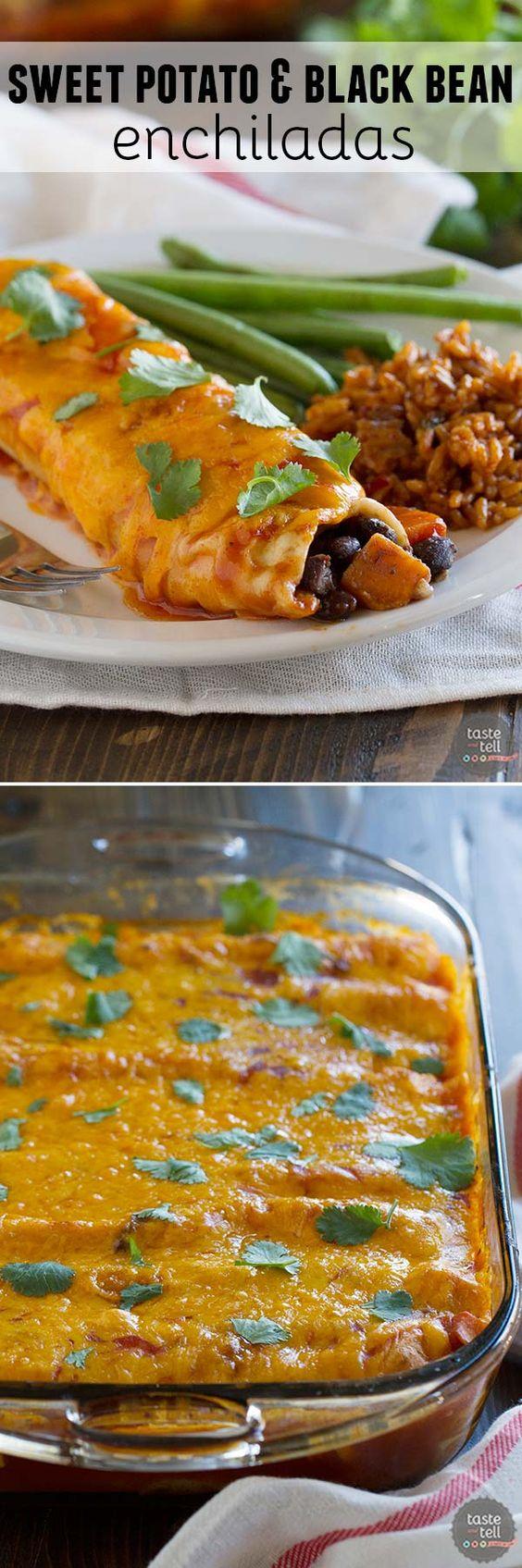 enchiladas bean enchiladas recipe vegetarian sweets sweet enchiladas ...