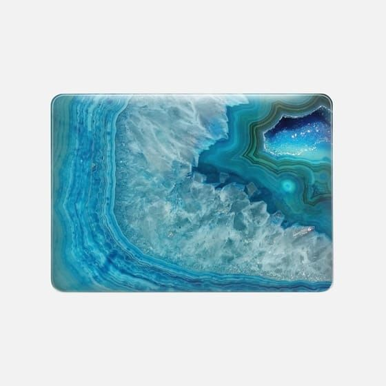 Agate by Lescapricesdefilles on Laptop Sleeve Laptop Sleeve