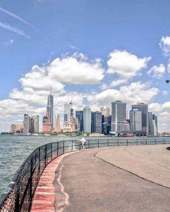 This is the view from Governor's Island