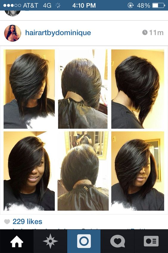 Amazing Bobs Protective Styles And My Hair On Pinterest Hairstyles For Women Draintrainus