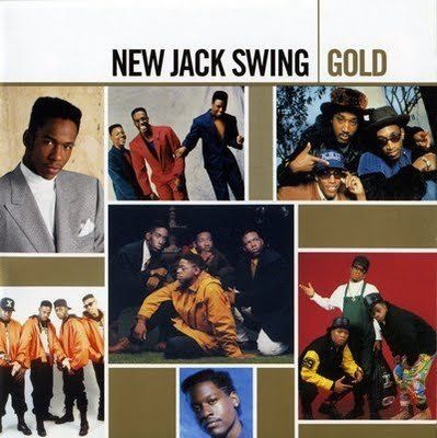 New Jack Swing, or 'Swingbeat', is a hybrid style popular from the late-1980s into the mid-1990s, which fuses the rhythms, samples and production techniques of hip-hop with the urban  R&B. The dance, like the music combined different styles of hyper-energetic, aerobicised jumps and twists style with the most of the moves coming from the signiture move of the dance; 'The Running Man'.  Performed most notably by MC Hammer and Bobby Brown.