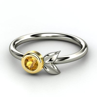 This is quite lovely  - Boutonniere Ring -like with diamond