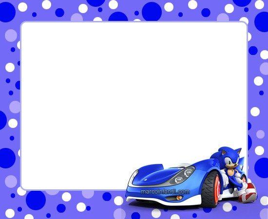 Pin De Jareth En Cumpleaños Fiesta De Sonic Cumpleaños De