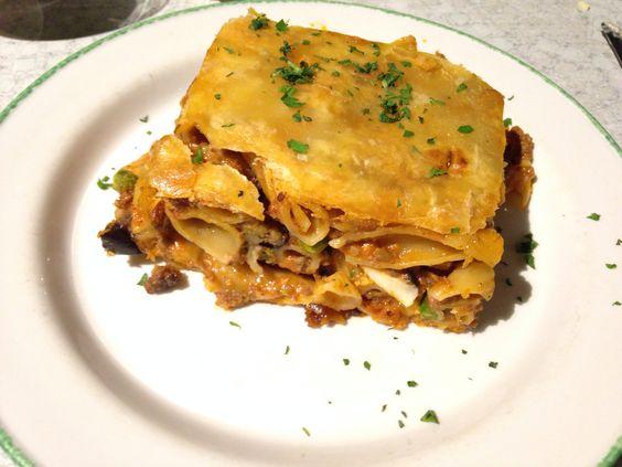 Timpana - traditional Maltese pasta dish
