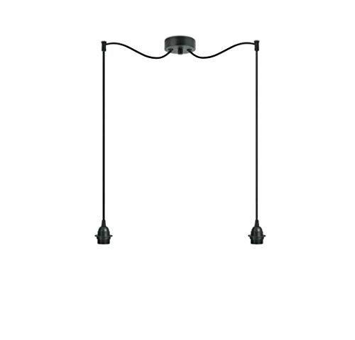 Sotto Luce Bi Kage 2S Lámpara Colgante de 2 Luces con Ca