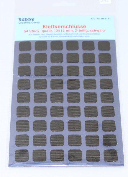 Klettverschlüsse 54 Stück -Schwarz von cri-sinaKreativ auf DaWanda.com
