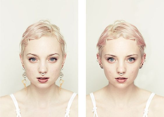 Photo Series Constructs Symmetrical Faces To Test Traditional Notions Of Beauty | The Creators Project