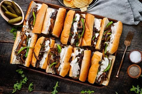 This Vegan Philly Cheesesteak Will Make You Seriously Consider Veganism Philly Cheese Steak Vegan Philly Cheesesteak Philly Food