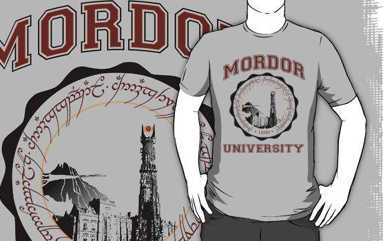 Mordor University T-Shirt