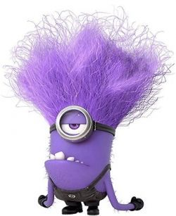 Cute Purple Minions Wallpaper
