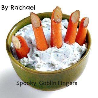 Spooky Halloween Goblin fingers recipe!