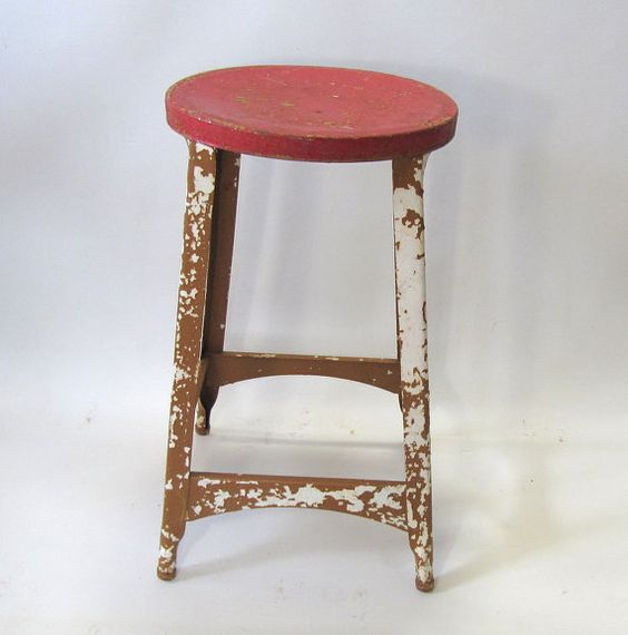 Industrial Strength Red by Jeanne on Etsy