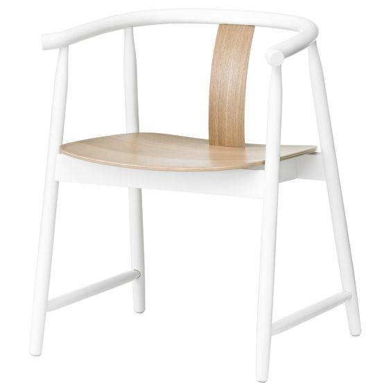 TRENDIG 2013 Sillón - blanco/natural - IKEA