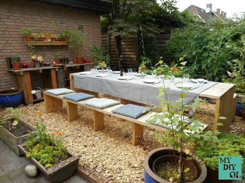 DIY - Gartenmöbel