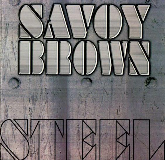 savoy brown steel album covers