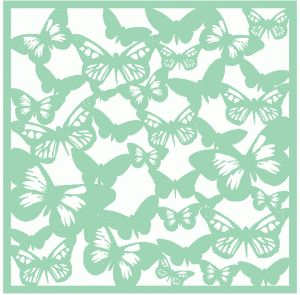 Silhouette Online Store: butterfly silhouette background / template