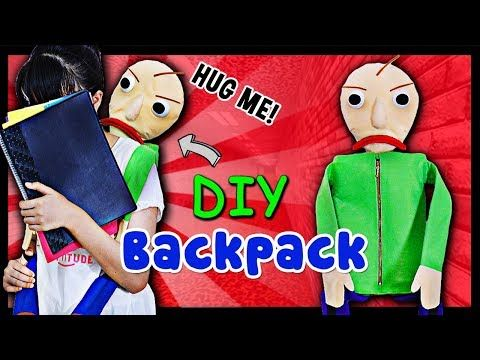 Wearing This Baldi Backpack Then You Will Love Math All Over Again
