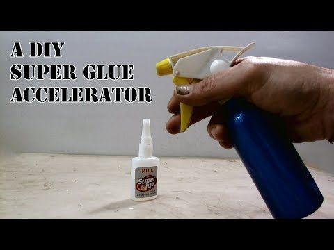 A Diy Super Glue Activator Deactivator How To Fast Dry Super Glue Youtube Super Glue Glue Glue Crafts