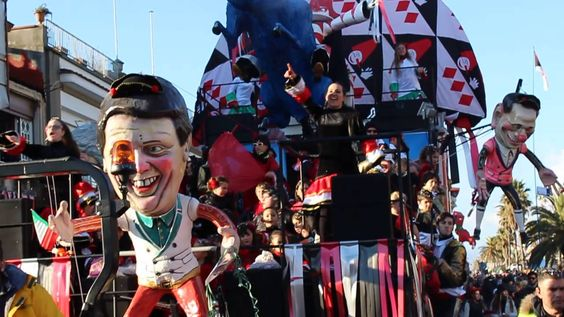 Carnaval de Viareggio 2015 - 1 - Passeios Na Toscana