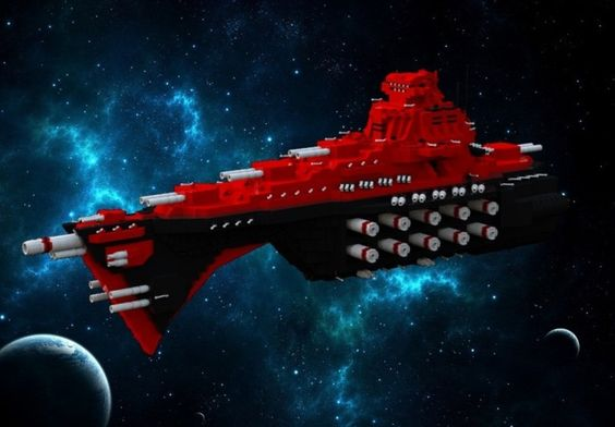LDD Forum: [BB17] Thanatos Class Battleship, by Kaplan