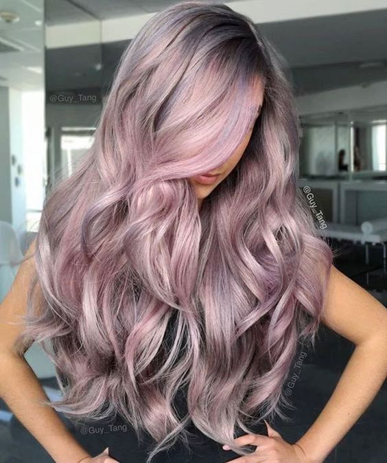 30+ Trendy Silver Rose Hair Colors You Must Try