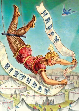 Cartolina card - Happy Birthday CC250